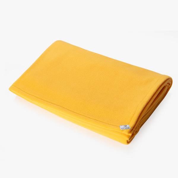Sarı Yoga Battaniyesi