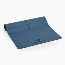 Ma'at Design Kaydırmaz 5 mm Mavi Yoga & Pilates Matı - Thumbnail