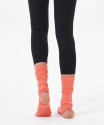 Nar Çiceği Bilekli Yoga & Pilates Çorabı - Thumbnail