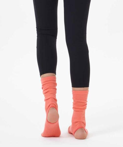 Nar Çiceği Bilekli Yoga & Pilates Çorabı