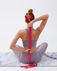 Pembe Yoga Kemeri ( Kayışı ) - Thumbnail